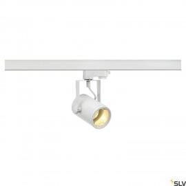 SLV EURO SPOT GU10, white, max. 25W, incl. 3-circuit adapter 153851