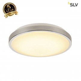 SLV 155152 MARONA LED, ceiling light,round, 3000k, chrome