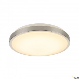 SLV 155156 MARONA LED, ceiling light,round, 3000k, brushedaluminium
