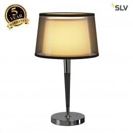 SLV 155651 BISHADE table lamp, TL-1, E27,max. 40W