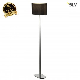 SLV 155850 SOPRANA OVAL floor stand, SL-1, black textile, E27, max. 60W, 2 packages