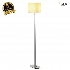 SLV 155851 SOPRANA OVAL floor stand, SL-1, white textile, E27, max. 60W, 2 packages