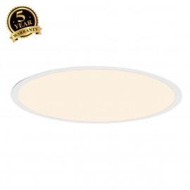 INTALITE 158662 LED PANEL ROUND pendant, mattwhite, 360 LED, 40W, dimmable,2700K