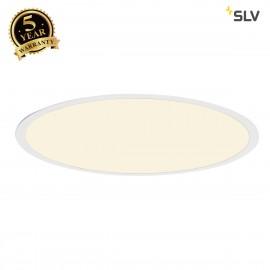 SLV 158663 LED PANEL ROUND pendant, mattwhite, 360 LED, 40W, dimmable,3000K