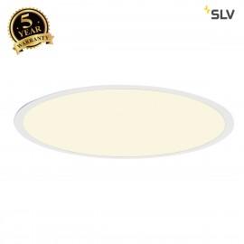 SLV 158664 LED PANEL ROUND pendant, mattwhite, 360 LED, 40W, dimmable,4000K