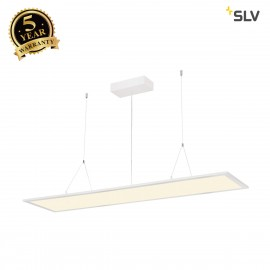 SLV I-PENDANT PRO LED Panel, 1195x295mm, matt white, 240V, 3000K 158723