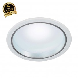 SLV 160451 LED downlight 30/4, round,white, 15W, SMD LED, 4000K