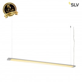 SLV 160904 HANG UP 2 LED pendant, silver
