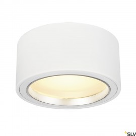SLV 161461 LED SURFACE SPOT 1800lm, round, white, 48 LED, 3000K