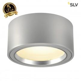 SLV 161464 LED SURFACE SPOT 1800lm, round, silver-grey, 48 LED, 3000K