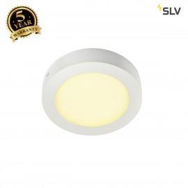 INTALITE 162913 SENSER wall and ceiling light,round, white, 10W SMD LED,120°, 3000K