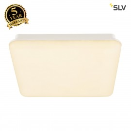 SLV 163031 SIMA, wall and ceiling light, LED, 3000K, square, with RF sensor