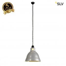 SLV 165350 PARA 380 pendant, silver-grey,E27, max. 160W, 2 pcs. perpack!