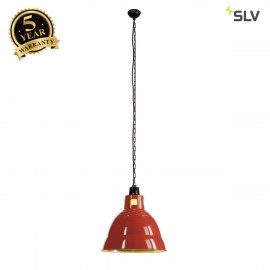 SLV 165356 PARA 380 pendant, red, E27,max. 160W, 2 packages