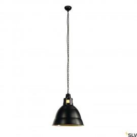 SLV 165359 PARA 380 pendant, black, E27,max. 160W, 2 packages
