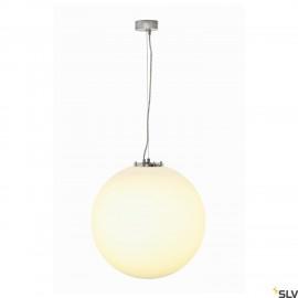 SLV 165400 ROTOBALL 50 pendant, white,E27, max. 24W