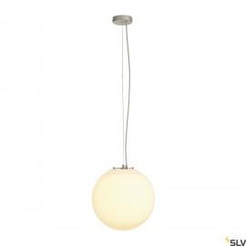 SLV 165410 ROTOBALL 40 pendant, white,E27, max. 24W