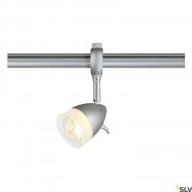 SLV 184071 KANO lamp head for EASYTEC II,silver-grey, GU10, max. 50W