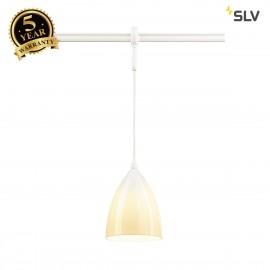 SLV 184531 TONGA 4 pendant for EASYTEC II, white, white ceramic, E14max. 60W