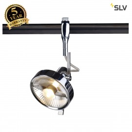 SLV 185622 YOKI ES111 lamp head forEASYTEC II, chrome, max. 75W,incl. decoring