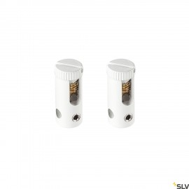 SLV 186351 FEED-IN, for TENSEO low-voltage cable system, white, 2 pieces