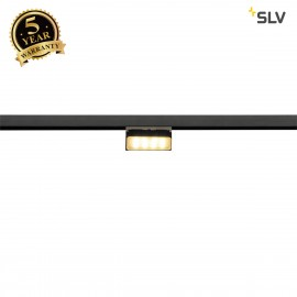 SLV 188550 M-TRACK, adjustable light for M-TRACK low-voltage cabinet track, black, magnetic, 4.8W