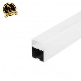 SLV 213461 GLENOS ALU-PROFILE with cover,matt white , 1m