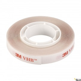 SLV 220000 Double-sided adhesive tape 9mm, transparent, 3m