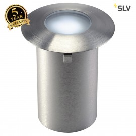 SLV 227461 TRAIL-LITE recessed fitting,stainless steel 316, 4 LED,0.3W, 6500K