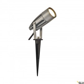 SLV 227504 SYNA LED, earth spike,silver-grey, 230V, 3000K