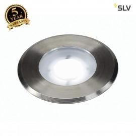 SLV 228411 DASAR FLAT 230V LED ingroundfitting, round, 4.3W LED,5000K, stainless steel bezel