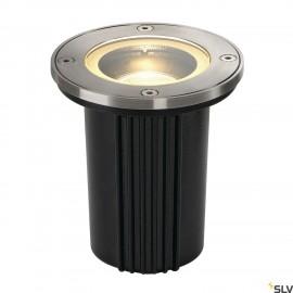 SLV 228430 DASAR EXACT GU10 ingroundfitting, round, stainlesssteel 316, max. 35W, IP67