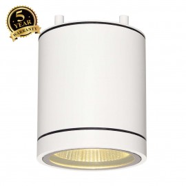 SLV 228501 ENOLA_C OUT CL ceiling light,round, white, 9W LED, 3000K,35°