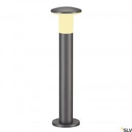 SLV 228945 ALPA MUSHROOM 75 bollard light, stone grey, E27 EnergySaver, max. 24W, IP55