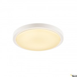 SLV 229961 AINOS, ceiling light, LED, 3000K, round, white