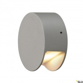 SLV 231012 PEMA LED wall light,silver-grey, 3.3W LED, 3000K,IP44