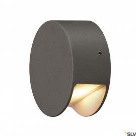 SLV 231015 PEMA LED wall light,anthracite, 3.3W LED, 3000K,IP44