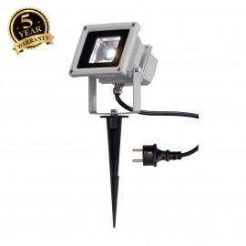 SLV 231101 LED OUTDOOR BEAM, silver-grey,10W, 5700K, 100°, IP65