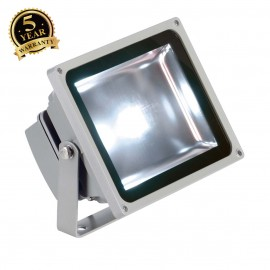 SLV 231111 LED OUTDOOR BEAM, silver-grey,30W, 5700K, 100°, IP65