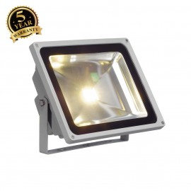 SLV 231122 LED OUTDOOR BEAM, silver-grey,50W, 3000K, 100°, IP65
