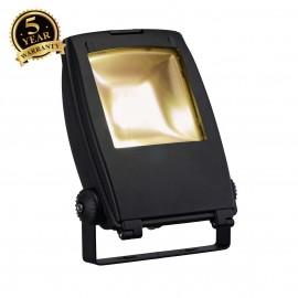 SLV 231162 LED FLOOD LIGHT, matt black,30W, 3000K, 100°, IP65