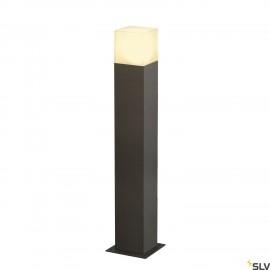 SLV 231225 GRAFIT SL 60 bollard light,anthracite/white, E27 EnergySaver, max. 11W, IP44