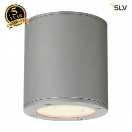 SLV 231544 SITRA CEILING LIGHT, round,stone grey, GX53, max. 9W,IP44