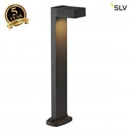 SLV 232295 QUADRASYL SL 75 path light,square, anthracite, GX53, max.11W, IP44