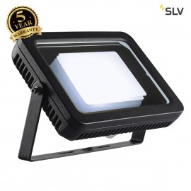SLV 232830 SPOODI floodlight, square, 30W, black, 4000K LED