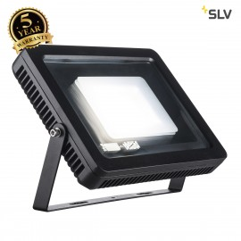 SLV 232850 SPOODI floodlight, square, 60W, black, 4000K LED