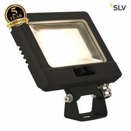 SLV 232860 SPOODI SENSOR, LED Outdoor surface-mounted wall light, 11W, black, 3000K