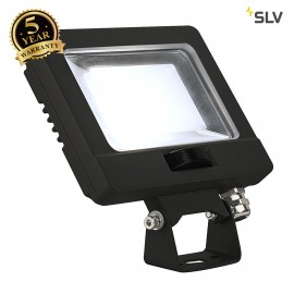 SLV 232870 SPOODI SENSOR, LED Outdoor surface-mounted wall light, 11W, black, 4000K