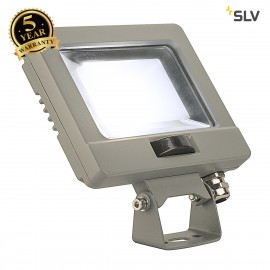 SLV 232874 SPOODI SENSOR, LED Outdoor surface-mounted wall light, 11W, silver-grey, 4000K