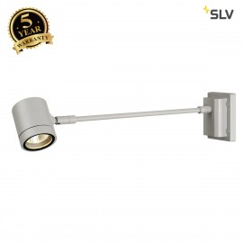 SLV 233124 NEW MYRA DISPLAY STRAIGHT,silver-grey, GU10, max. 50W,IP55